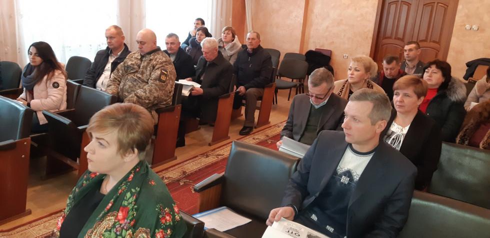 У Колках презентували проект «Успішна громада»