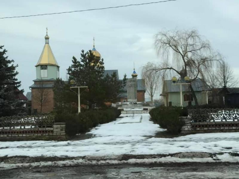 Церква у селі Городок