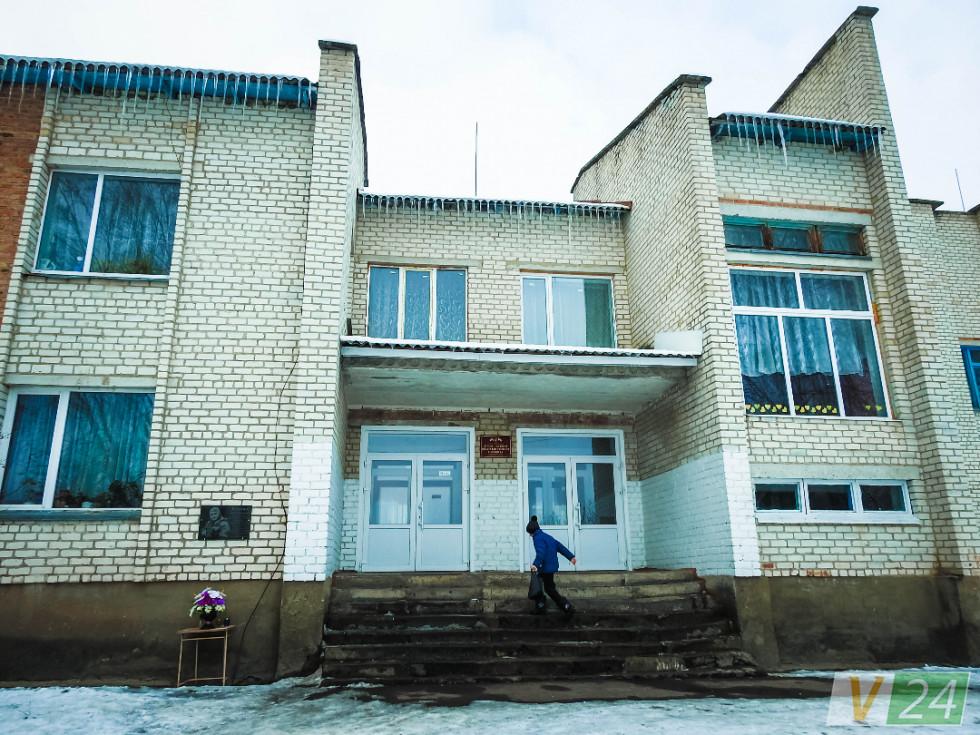 Школу в Оконську збудував місцевий льонозавод