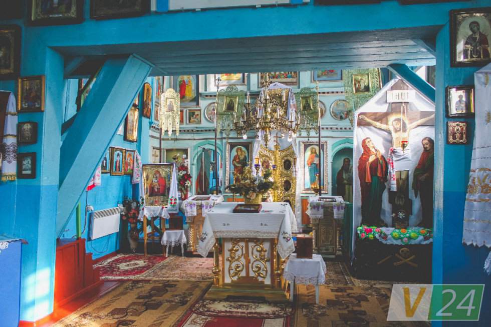 У храмі Успіння Пресвятої Богородиці, якому 300 років
