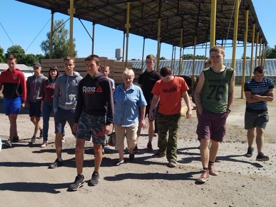 Учні Маневицького професійного ліцею відвідали ДП «Маневицьке лісове господарство»