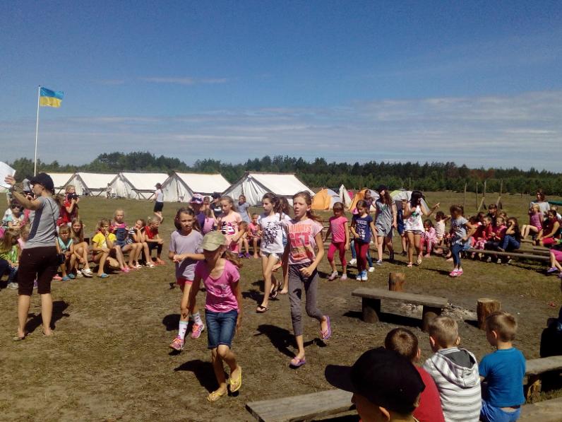 У Маневицькому районі розпочав роботу табір «Надія» Євангельських християн-баптистів