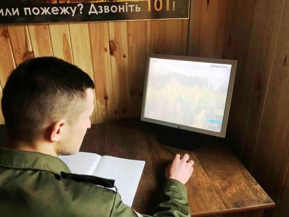 У травні цьогоріч у Прибузькому лісовому господарстві обладнали нову пожежну станцію з сучасною системою відеоспостереження.