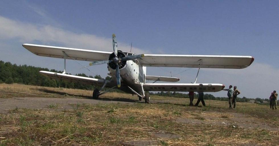 У 2015 році контролювати волинські ліси від пожеж допомагала авіація.