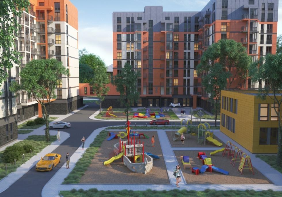 Новий квартал Луцька ЖК «Дрім Таун» чекає щасливих мешканців