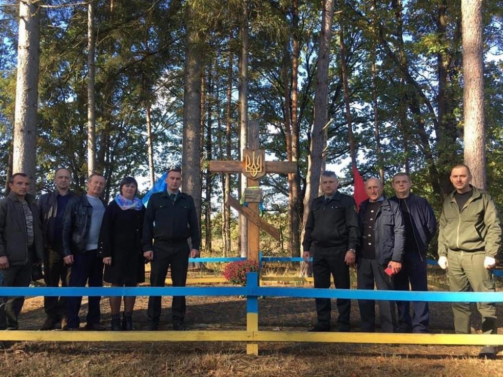Відкриття оновленого меморіалу в урочищі Березина, 2014 рік