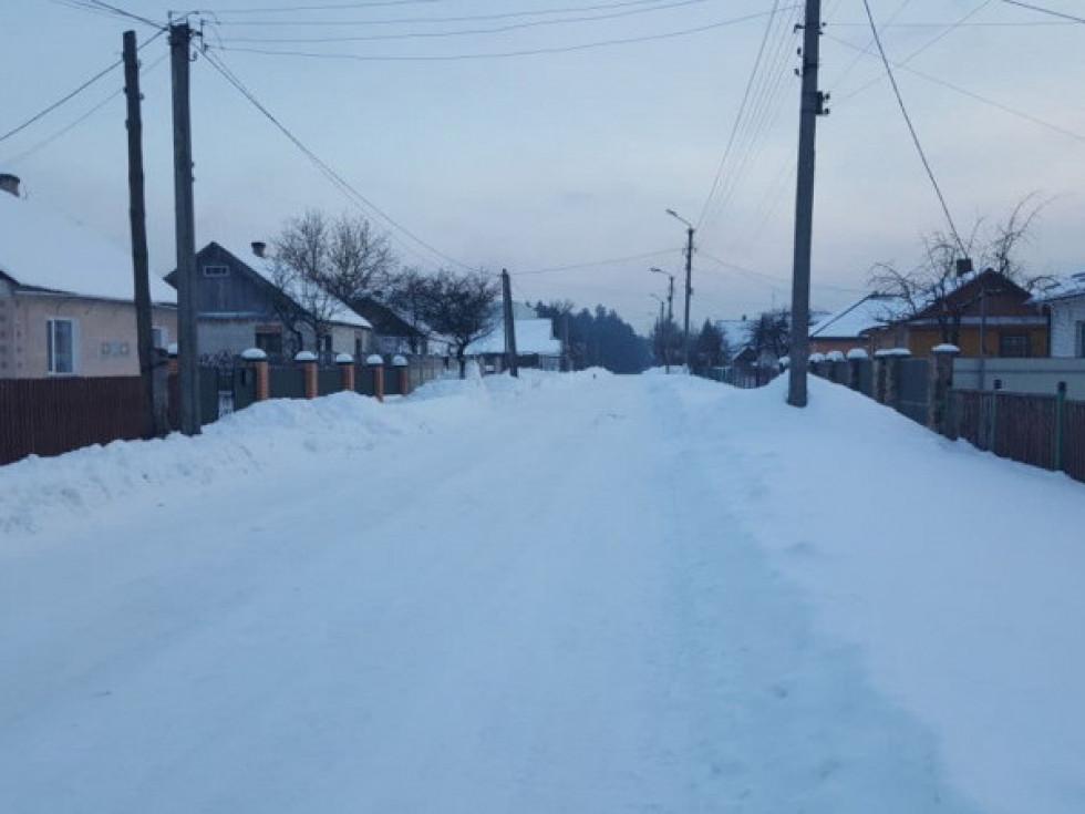 Вулиця Героїв Майдану в Маневичах